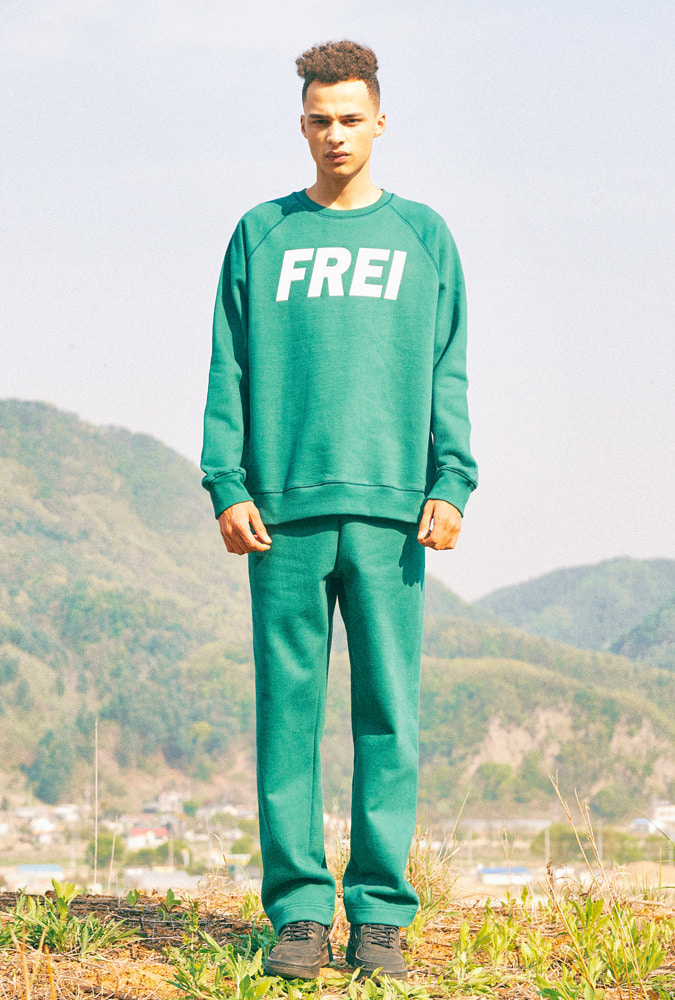 [50% OFF] BIG LOGO SWEATSHIRT(GREEN)
