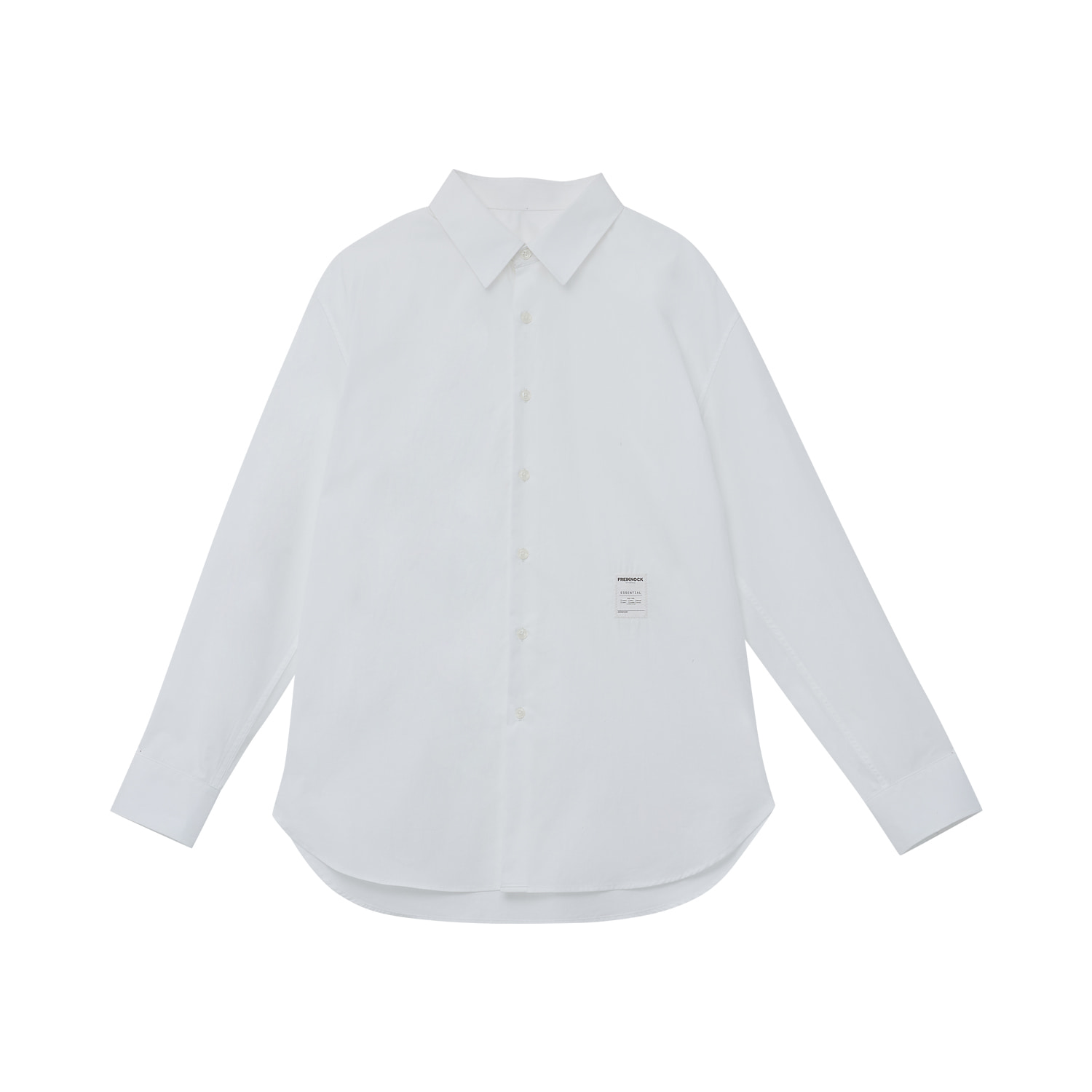 [30% OFF]ESSENTIAL SHIRT Vol.1(WHITE)