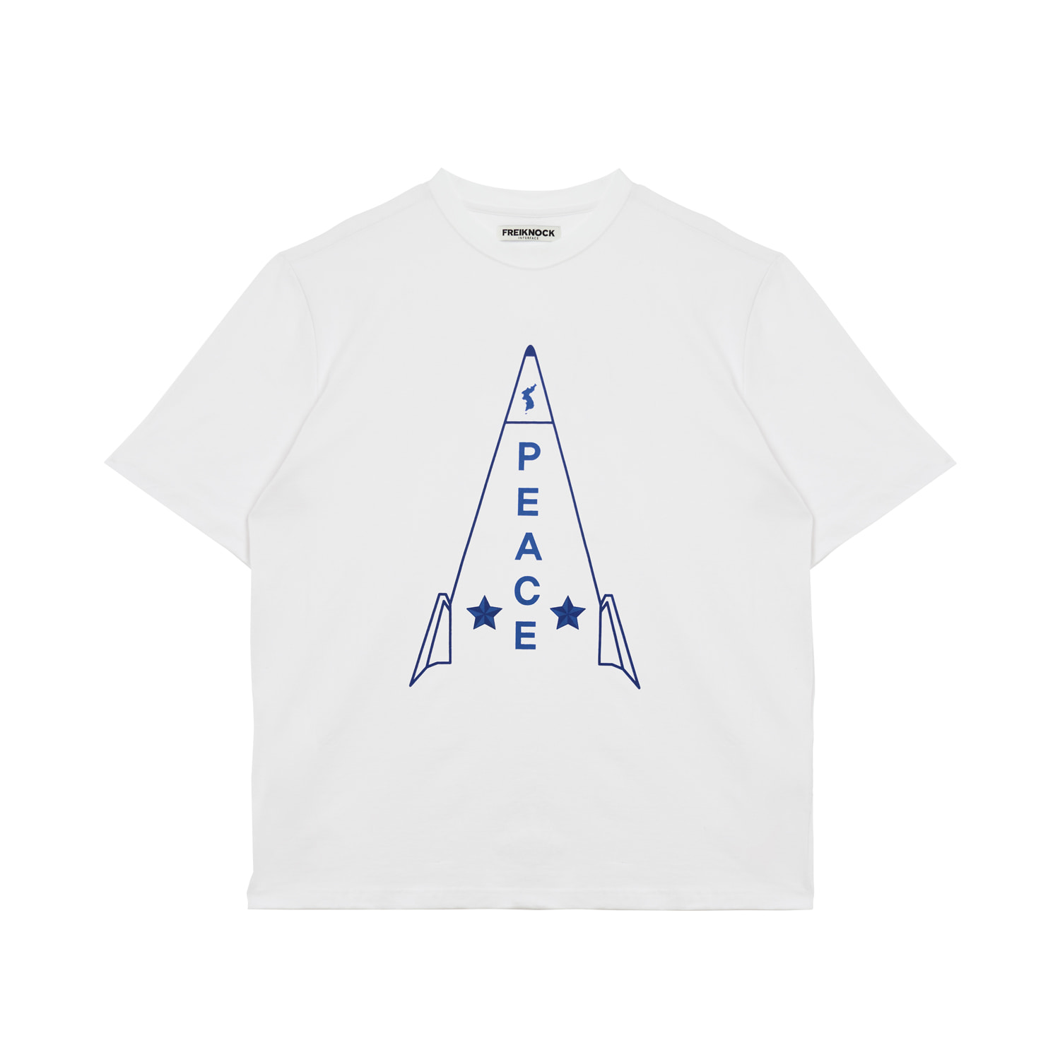 [20% OFF] ROCKET T-SHIRT(WHITE)