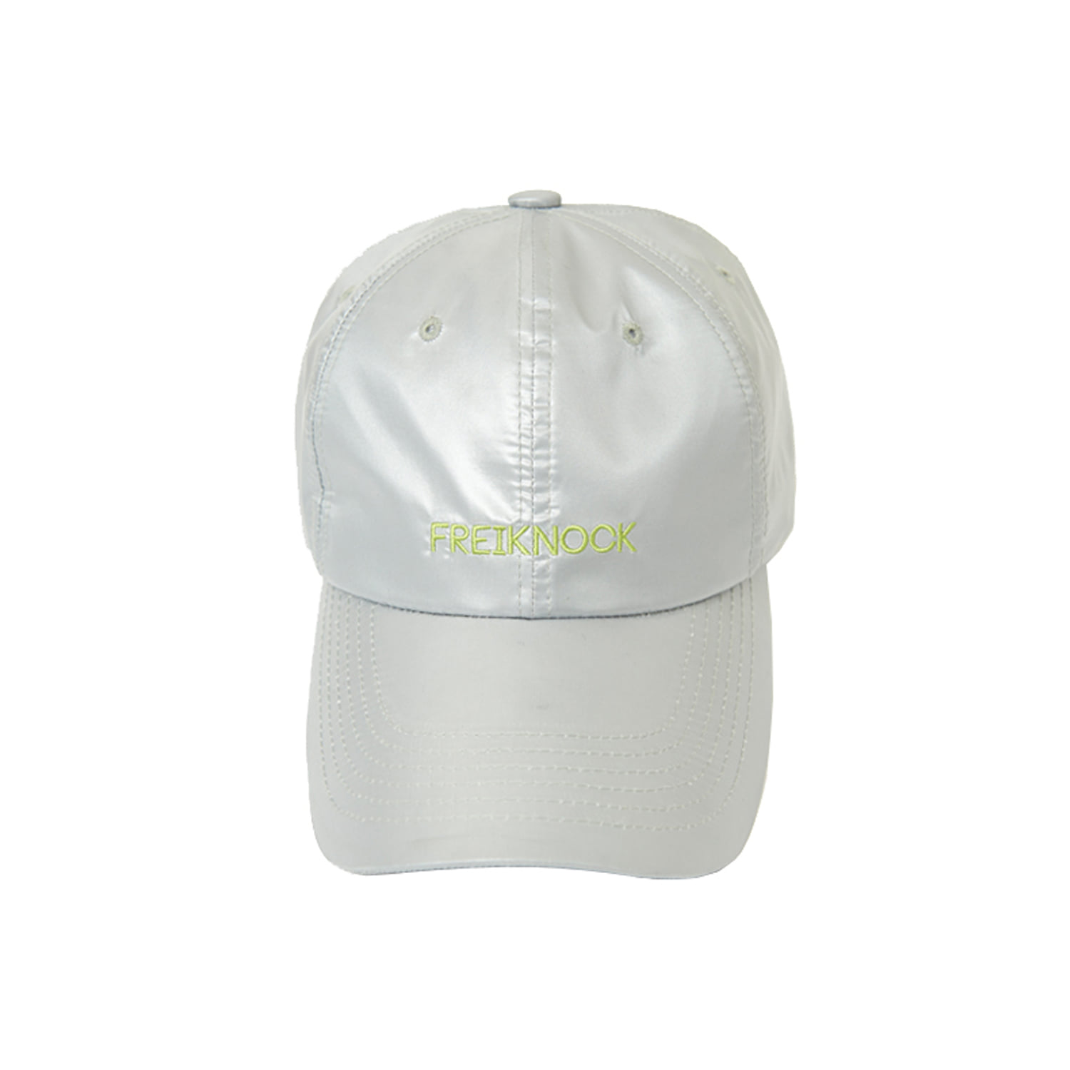 [50% OFF] SHINY BALL CAP (SILVER)