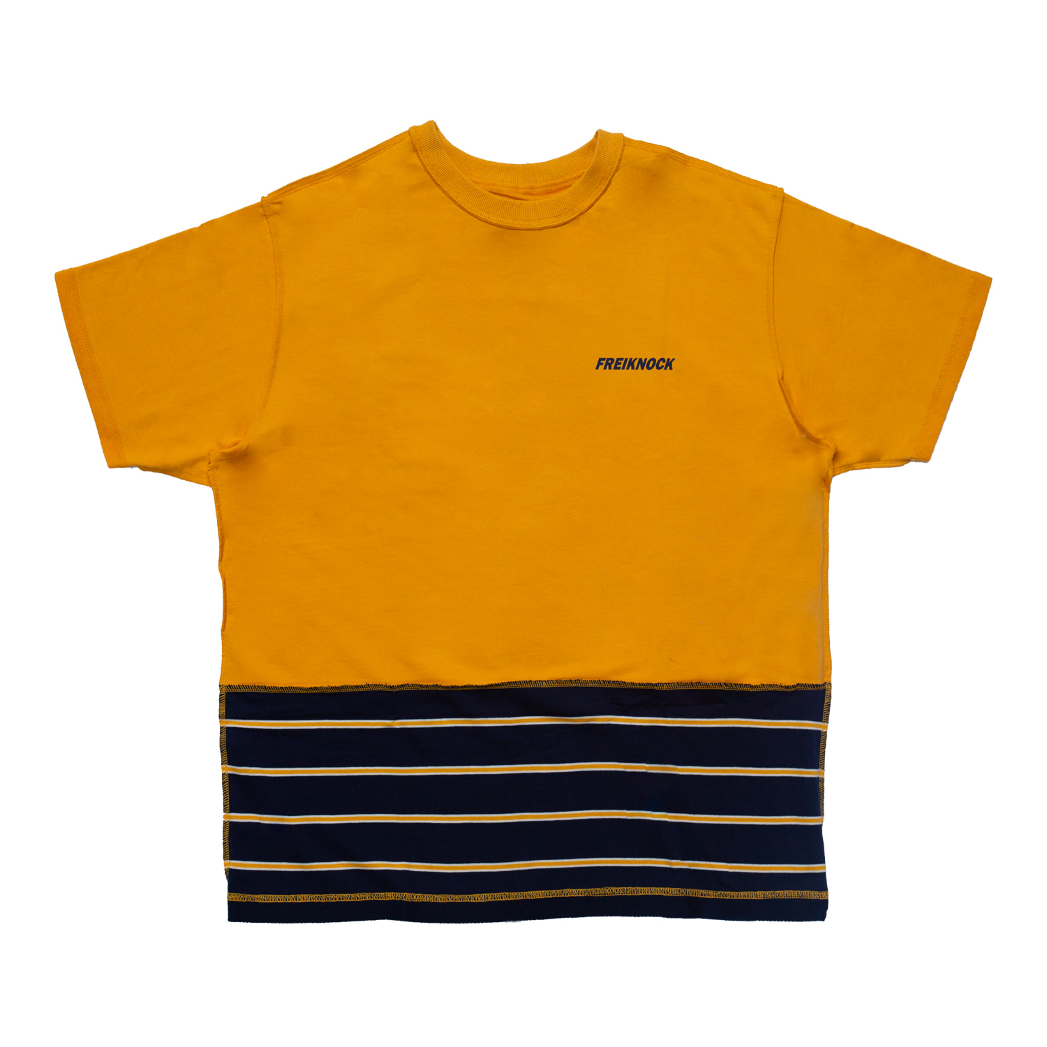 [83% OFF]INSIDE-OUT TSHIRT(YELLOW)