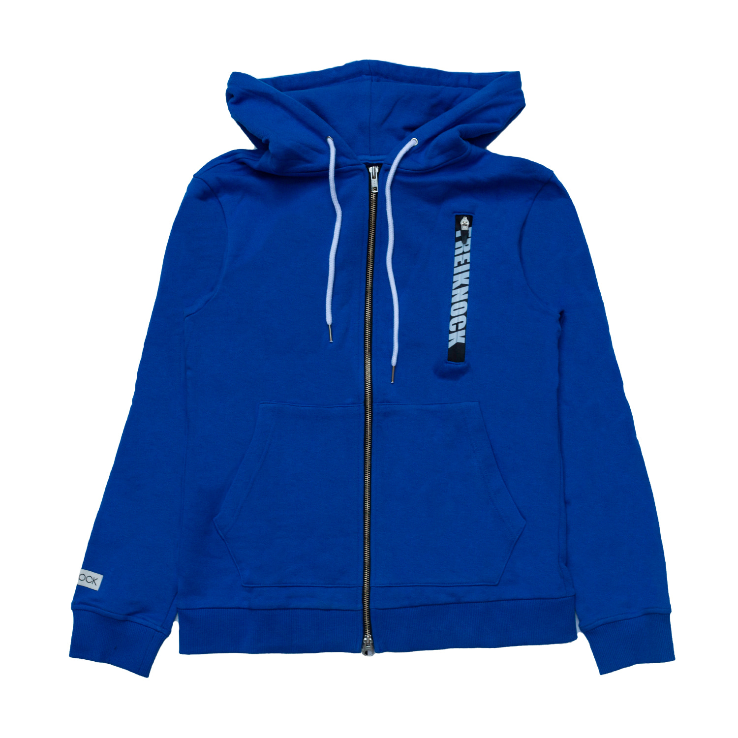 [90% OFF]LOGO ZIP-UP HOODIE(BLUE)