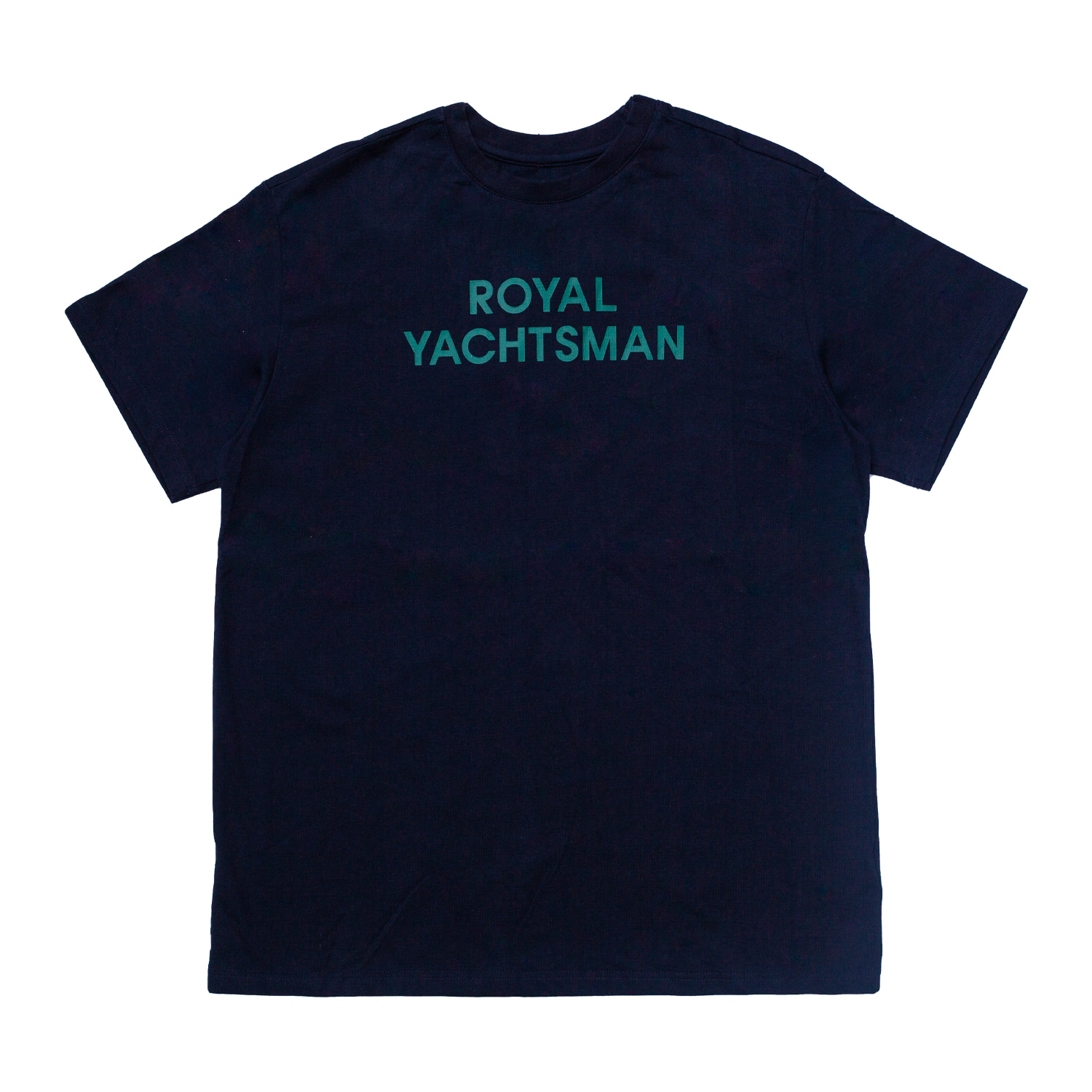 LOGO PRINTED T-SHIRT(NAVY)