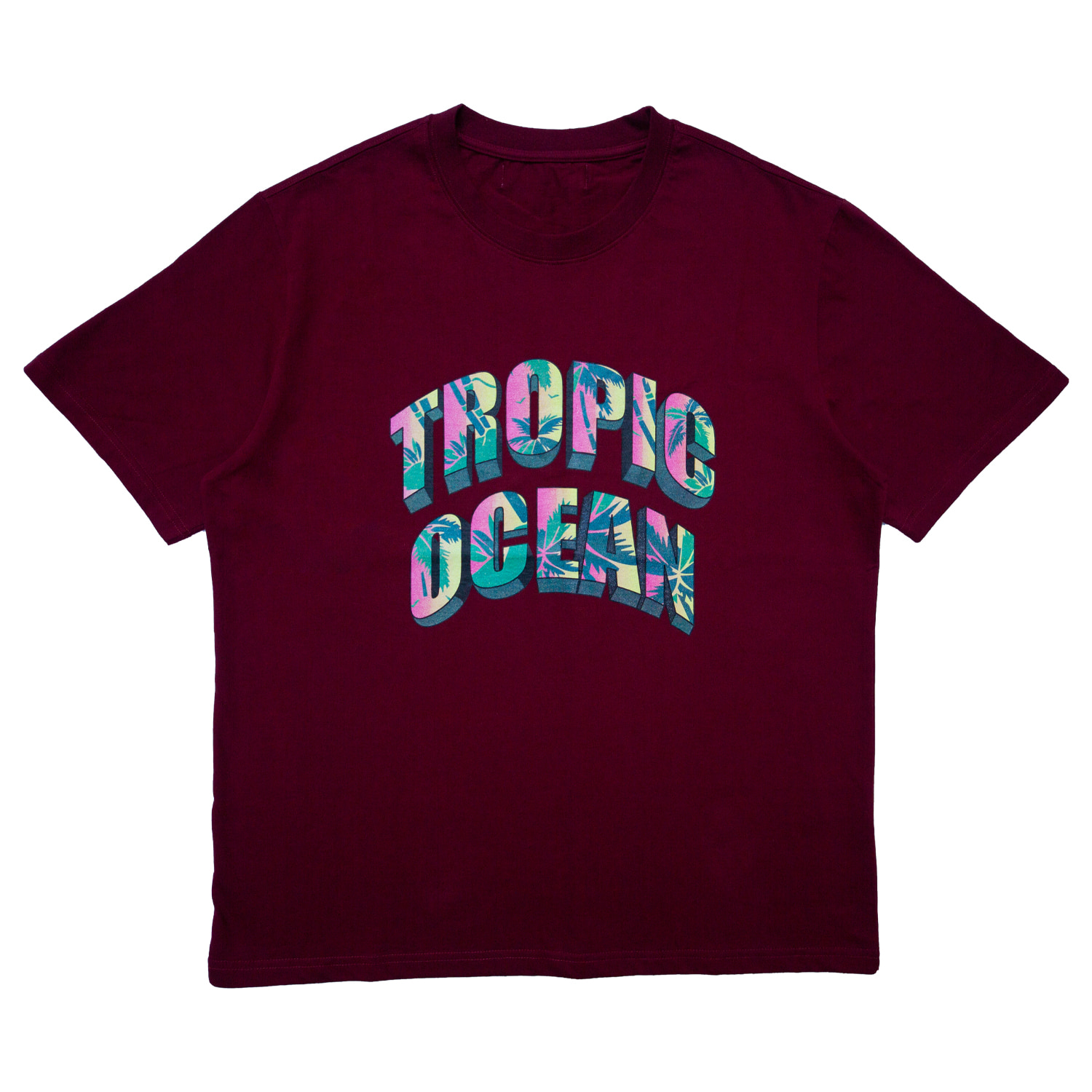 TROPIC OCEAN T-SHIRT(RED)
