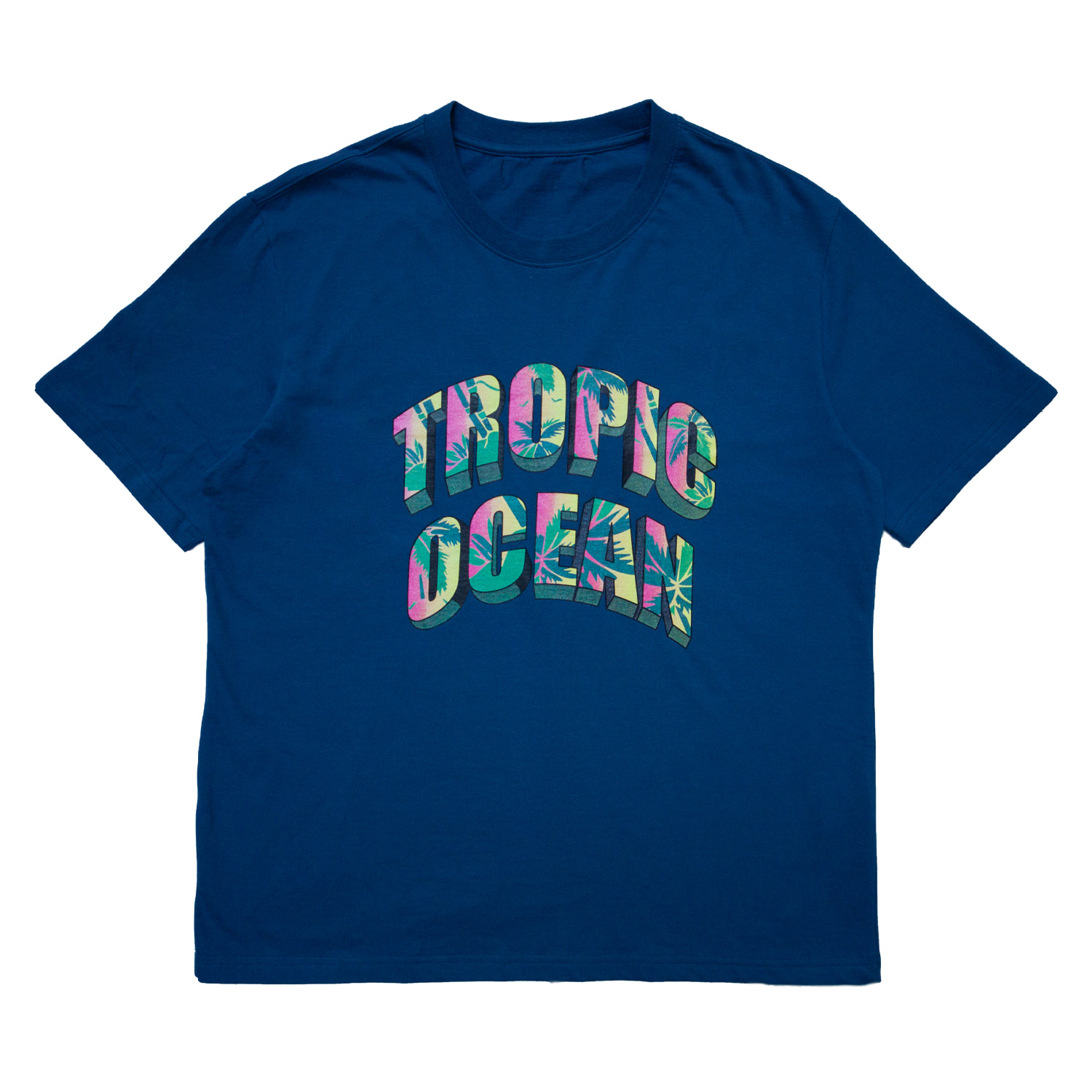 [70% OFF]TROPIC OCEAN T-SHIRT(BLUE)
