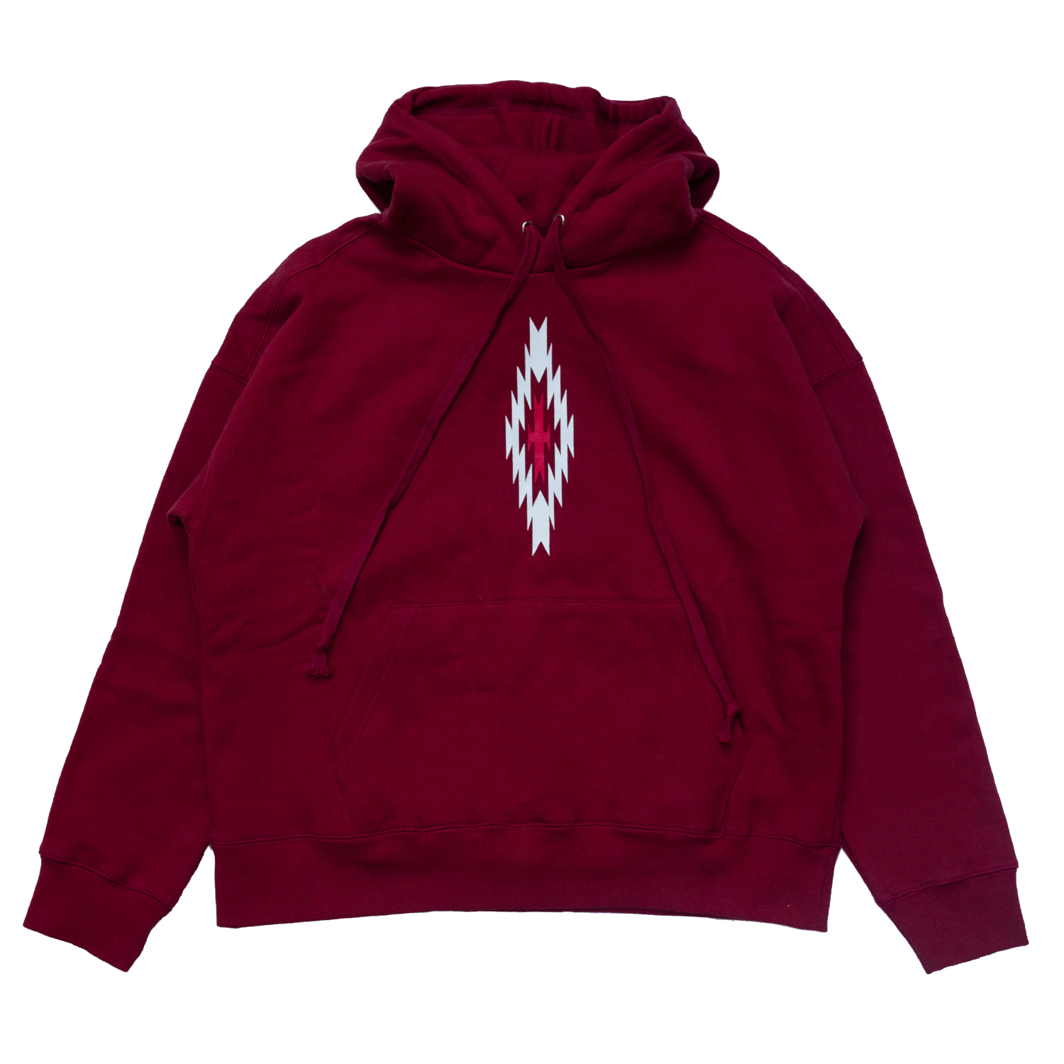 [85% OFF]CHIMAYO PRINTED HOODIE(RED)