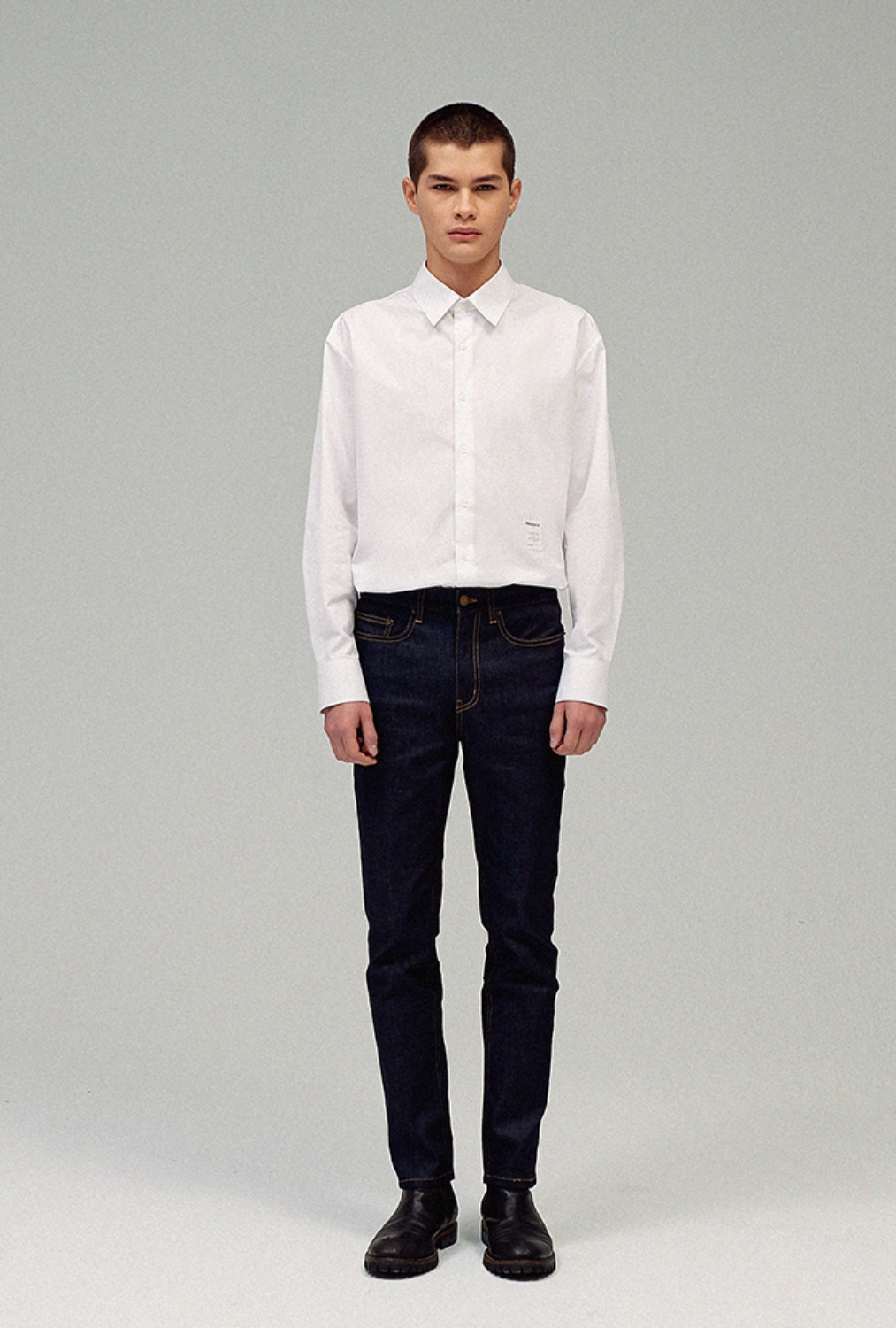 ESSENTIAL SHIRT Vol.1(WHITE)