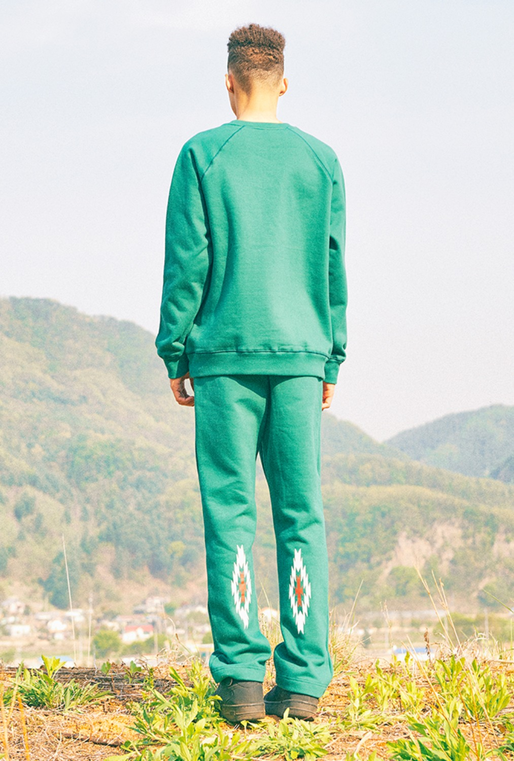 CHIMAYO SWEAT PANTS(GREEN)