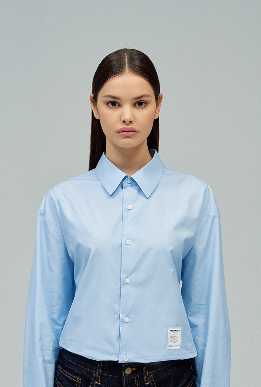 [30% OFF]ESSENTIAL SHIRT Vol.1(BLUE)
