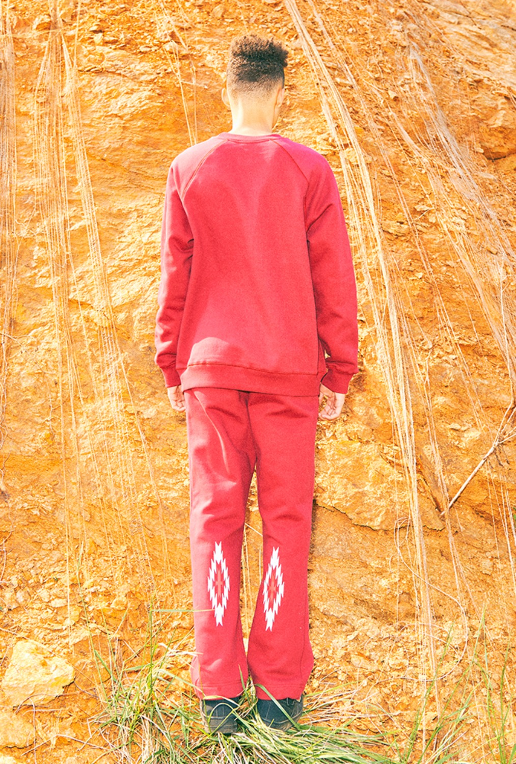CHIMAYO SWEAT PANTS(RED)