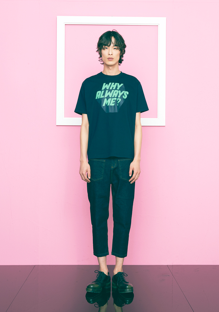 [30% OFF] WHY ALWAYS ME TSHIRT(NAVY)
