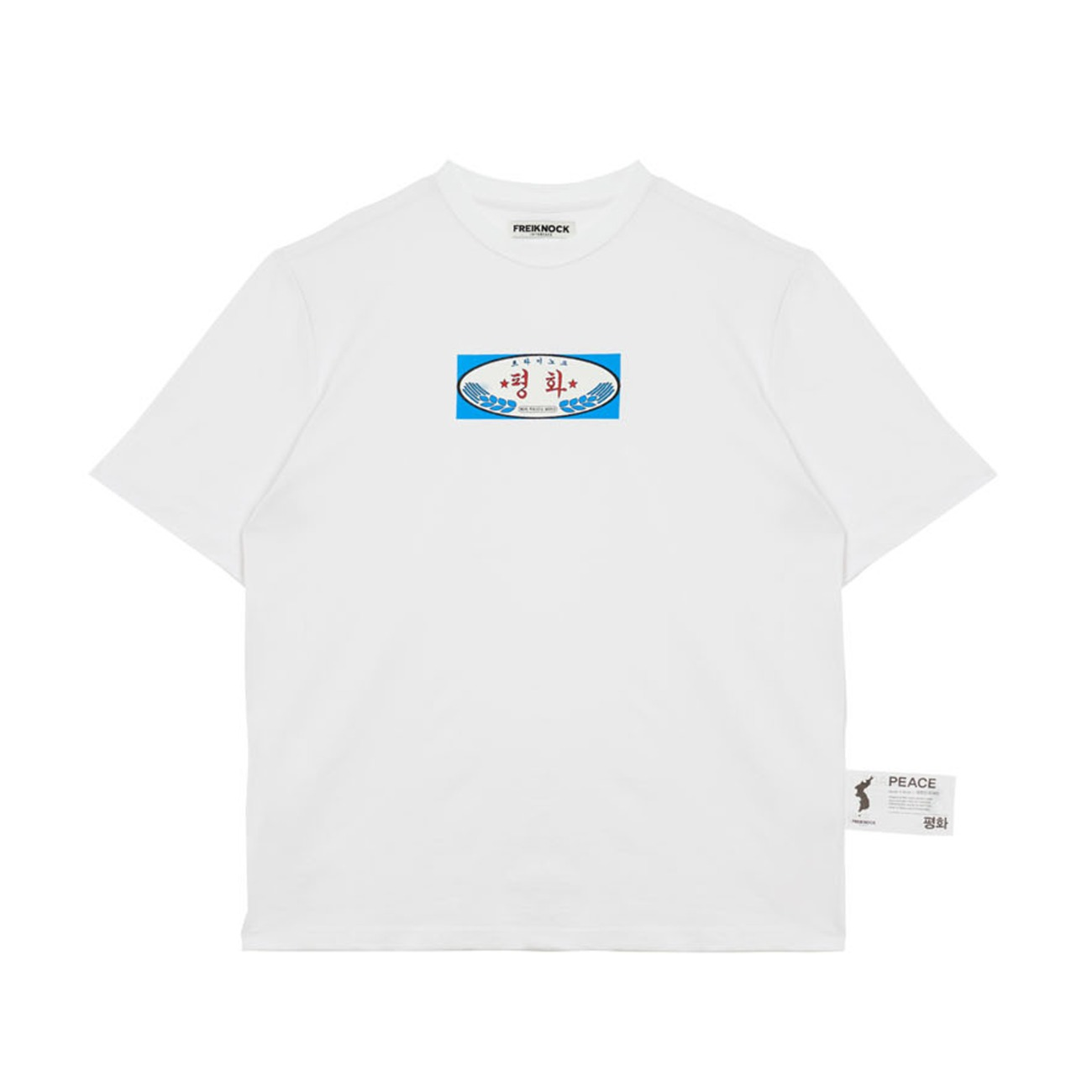[30% OFF]PEACE T-SHIRT(WHITE)